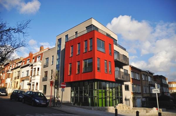 Gs architectes associes ecobuild for Architecte bruxelles
