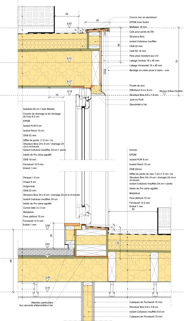 cur construction ossature bois ecobuild. Black Bedroom Furniture Sets. Home Design Ideas