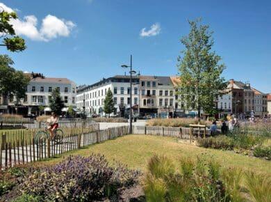 ÀRTER ARCHITECTS - Place Fernand Cocq & Chaussée d'Ixelles - Redevelopment of public spaces ©Arter