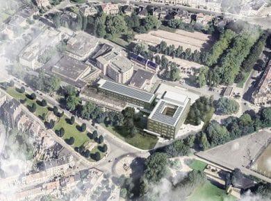 Archipelago Architects - Joseph Bracops Ziekenhuis