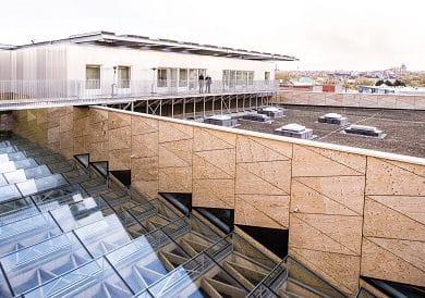 architectesassoc. - Totaaloverzicht van het dak Photo©Greenbizz