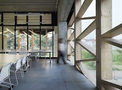 architectesassoc. - Onthaalhal Photo©Renaud Callebaut