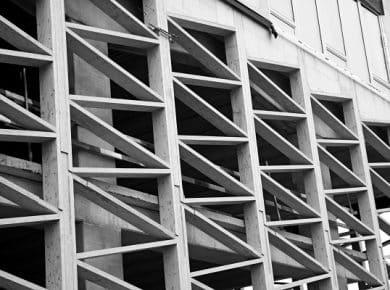 architectesassoc. - Gevel van het onthaal in aanbouw Photo©architectesassoc.