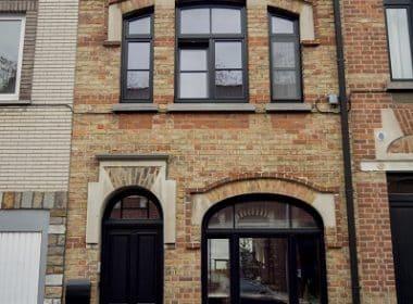 UP! architects - Rénovation très basse énergie et extension d'une ancienne maison ouvrière