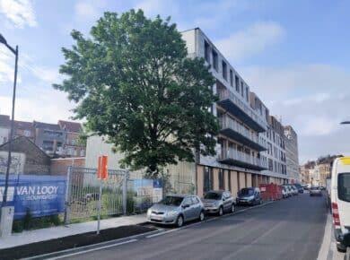 una|a - Pavillon : Construction site 2021