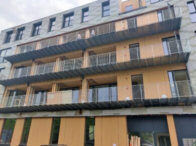 una|a - Pavillon : Front façade 2021